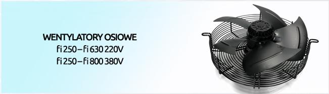 wentylator osiowy ssący SKL